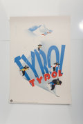 Fine Art - Work on Paper:Print, Maria Rehm Hall (20th Century). Tyrol, 1948. Lithograph incolors. 32-3/4 x 23-1/4 inches (83.2 x 59.1 cm) (sheet). Prin...