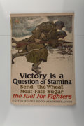 Fine Art - Work on Paper:Print, Harvey T. Dunn (1884-1952)Victory is a Ques...
