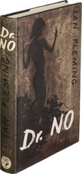Books:Mystery & Detective Fiction, Ian Fleming. Dr. No. London: Jonathan Cape, [1958]. Firstedition, signed by Ursula Andress, who portrayed H... (Total: 2Items)