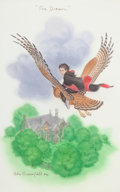 Books:Children's Books, J. K. Rowling. Set of Two Deluxe First Editions with Tipped inWatercolors. Includes:... (Total: 2 Items)