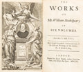 Books:Literature Pre-1900, [William Shakespeare]. The Works of Mr. WilliamShakespear... London: Printed for Jacob Tonson, 1709. [together... (Total: 7 Items)