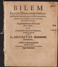 Books:Medicine, [Medicine]. Collection of Early Pamphlets. [Various places: 1590-1707].... (Total: 3 Items)