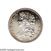 1838 P50C Half Dollar, Judd-72, Pollock-75, R.5, PR63 PCGS. This is William Kneass' design although this was probably ex...