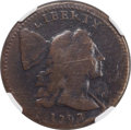 Large Cents, 1793 1C Liberty Cap S-15, B-22, High R.6, VG10 NGC. ...
