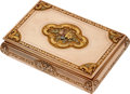 Estate Jewelry:Boxes, Gold Box. ...