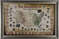 "Baseball Collectibles:Others, ""The Ball Parks of the MLB"" Game Used Stadium Dirt Display -Steiner...."