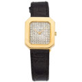 Estate Jewelry:Watches, Swiss Diamond, Gold Watch . ...