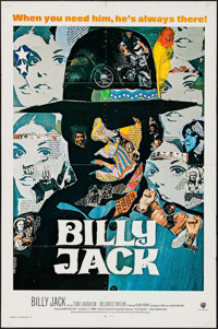 "Billy Jack (Warner Brothers, 1971). International One Sheet (27"" X 41""). Action"