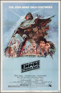 "The Empire Strikes Back (20th Century Fox, 1980). One Sheet (27"" X 41"") Style B. Science Fiction"
