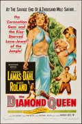 """Movie Posters:Adventure, The Diamond Queen (Warner Brothers, 1953). One Sheet (27"""" X 41"""").Adventure.. ..."""