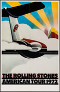 "Movie Posters:Rock and Roll, The Rolling Stones American Tour 1972 (Sunday Promotions, 1972).Poster (25"" X 38""). Rock and Roll.. ..."