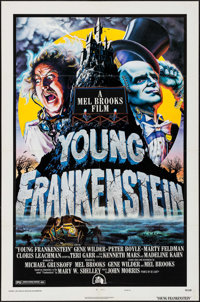 "Young Frankenstein (20th Century Fox, 1974). One Sheet (27"" X 41"") Style B. Comedy"