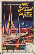 "Movie Posters:Science Fiction, First Spaceship on Venus (Crown International, 1962). One Sheet (27"" X 41""). Science Fiction.. ..."