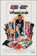 "Movie Posters:James Bond, Live and Let Die (United Artists, 1973). One Sheet (27"" X 41"").James Bond.. ..."