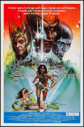 """Movie Posters:Fantasy, The Sword and the Sorcerer & Others Lot (Group 1, 1982). OneSheets (3) (27"""" X 41"""") Peter Jones Artwork. Fantasy.. ... (Total: 3Items)"""