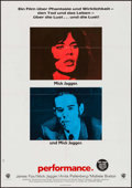 "Movie Posters:Drama, Performance (Warner Brothers, 1970). German A1 (23"" X 32.5""). Drama.. ..."