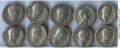 Ancients:Ancient Lots  , Ancients: ROMAN EMPIRE: Hadrian (AD 117-138). Lot of ten (10) ARdenarii. Fine - Choice VF.... (Total: 10 coins)