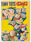 Golden Age (1938-1955):Funny Animal, Tiny Tots Comics #1 (Dell, 1943) Condition: FN....