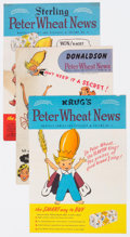 Golden Age (1938-1955):Humor, Peter Wheat News Group of 14 (Bakers Associates, 1948-50).... (Total: 14 Comic Books)