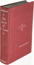 Books:Biography & Memoir, Charles A. Lindbergh. The Spirit of St. Louis. New York:1953. Presentation edition, signed....