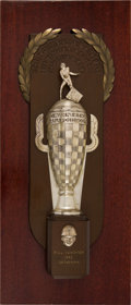 Miscellaneous Collectibles:General, 1953 Borg-Warner Trophy Presented to Bill Vukovich for Indianapolis 500 Victory. ...