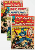 Silver Age (1956-1969):War, Sgt. Fury and His Howling Commandos Group of 8 (Marvel, 1964-71).... (Total: 8 Comic Books)