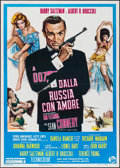 "Movie Posters:James Bond, From Russia with Love (United Artists, R-1970s). Italian 2 - Fogli (39.25"" X 55""). James Bond.. ..."