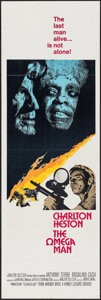 "Movie Posters:Science Fiction, The Omega Man (Warner Brothers, 1971). Door Panel (20"" X 60"").Science Fiction.. ..."