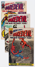Silver Age (1956-1969):Superhero, Daredevil Group of 54 (Marvel, 1964-72) Condition: Average GD/VG.... (Total: 54 Comic Books)