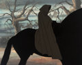 Animation Art:Production Cel, The Lord of the Rings Dark Rider Production Cel (Ralph Bakshi, 1978)...