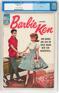 Silver Age (1956-1969):Romance, Barbie and Ken #3 (Dell, 1963) CGC NM- 9.2 Cream to off-white pages....
