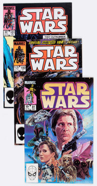 Star Wars Group of 33 (Marvel, 1980-85) Condition: Average NM-.... (Total: 33 Comic Books)