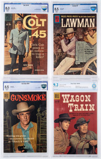 Comic Books - Assorted Silver Age Western Comics CBCS-Graded Group of 5 (Various Publishers, 1957-67).... (Total: 5 Comi...