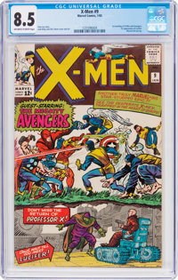 X-Men #9 (Marvel, 1965) CGC VF+ 8.5 Off-white to white pages