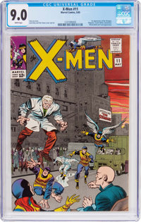 X-Men #11 (Marvel, 1965) CGC VF/NM 9.0 White pages