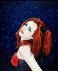 "Original Comic Art:Paintings, Chris Achilleos ""Marnie"" Painting Original Art (1994)...."