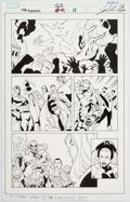 Original Comic Art:Panel Pages, Leonard Kirk Giant Size Marvel Adventures: The Avengers #1Page 13 Original Art (Marvel, 2007)....