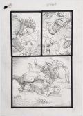 "Original Comic Art:Splash Pages, Simon Bisley Tower Chronicles #1 ""GeistHawk"" Page 58Original Art (Legendary, 2012)...."
