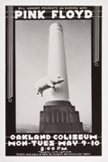 Memorabilia:Poster, Pink Floyd at Oakland Coliseum Poster (Bill Graham Productions,1977)....