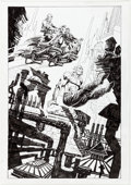 Original Comic Art:Splash Pages, Bruce Zick Zone Continuum Trade Paperback Splash Page 61Original Art (Dark Horse, 2016)....