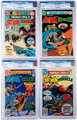 The Brave and the Bold CGC-Graded Group of 4 (DC, 1975-78) CGC NM+ 9.6.... (Total: 4 Comic Books)