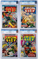 Iron Fist #3-5 and 13 CGC-Graded Group (Marvel, 1976-77).... (Total: 4 Comic Books)