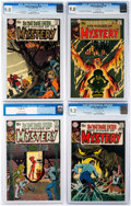 Bronze Age (1970-1979):Horror, House of Mystery CGC-Graded Group of 4 (DC, 1970) CGC VF/NM 9.0....(Total: 4 Comic Books)
