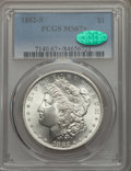 Morgan Dollars, 1882-S $1 MS67+ PCGS. CAC....