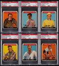 Olympic Cards:General, 1933 Sport Kings PSA Graded Collection (6)....