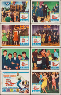 """Don't Knock the Twist (Columbia, 1962). Lobby Card Set of 8 (11"""" X 14""""). Rock and Roll. ... (Total: 8 Items)"""