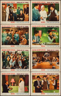 """Movie Posters:Comedy, Robin and the 7 Hoods (Warner Brothers, 1964). Lobby Card Set of 8(11"""" X 14""""). Comedy.. ... (Total: 8 Items)"""