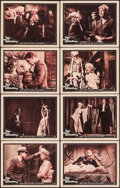 """Movie Posters:Horror, Two on a Guillotine (Warner Brothers, 1965). Lobby Card Set of 8(11"""" X 14""""). Horror.. ... (Total: 8 Items)"""