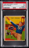 Football Cards:Singles (Pre-1950), 1935 National Chicle Ken Strong #7 PSA EX 5 (MC)....
