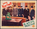 "Movie Posters:Mystery, Mr. Wong, Detective (Monogram, 1938). Lobby Card (11"" X 14"").Mystery.. ..."